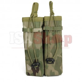 Molle Pouch Side Arm 2 Mags Multicam