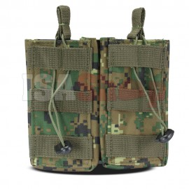 Molle Mag Pouch Open MARPAT Woodland