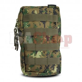 Molle Upright Pouch MARPAT Woodland