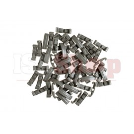 Index Clips 60pcs Foliage Green