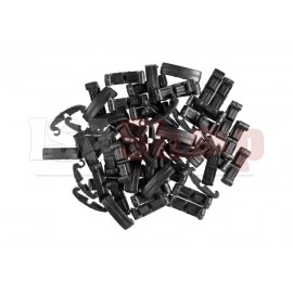 Index Clips 60pcs Black