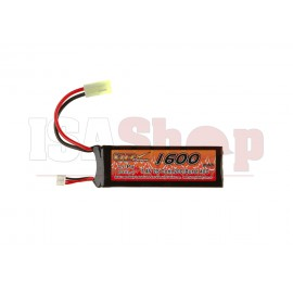 Lipo 7.4V 1600mAh 20C Mini Type