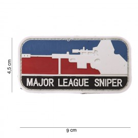 Major League Sniper PVC Patch Color