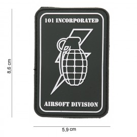 101 Inc Handgrenade PVC Patch