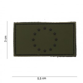 Europe Flag PVC Patch OD