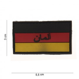 Germany Flag Small PVC Patch Color