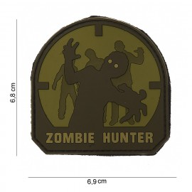 Zombie Hunter PVC Patch Arid