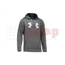 UA Fleece Storm Big Logo Hoody Grey