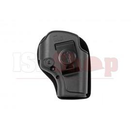 SHS Ambidextrous Inner Slim Holster Glock Black