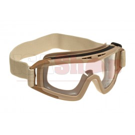 DLG Goggles Clear Tan