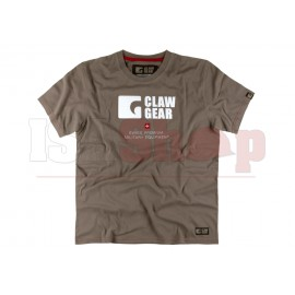 Claw Gear Tee Dark Earth