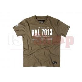 Claw Gear Tee RAL7013