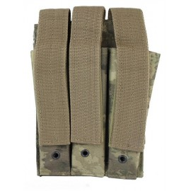 Molle Pouch Side Arm 3 Mags Closed A-TACS AU