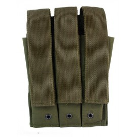 Molle Pouch Side Arm 3 Mags Closed OD