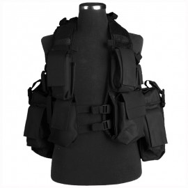 South African Assault Vest Black