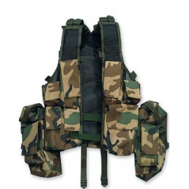 South African Assault Vest Woodland