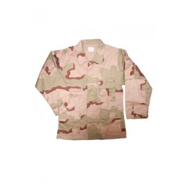 BDU Shirt 3 Color Desert
