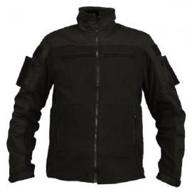 Combat Fleece Vest Black