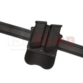 Kydex Double Pistol Mag Paddle Pouch