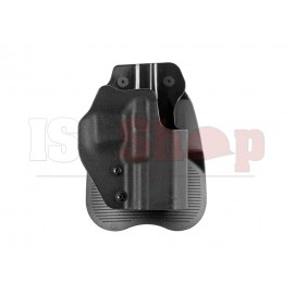 Glock 17 / 19 Molded Polymer Paddle Holster