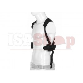Fast-Draw Shoulder Holster Double Mag