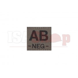 AB Neg Bloodgroup Patch RAL7013