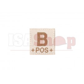 B Pos Bloodgroup Patch Desert
