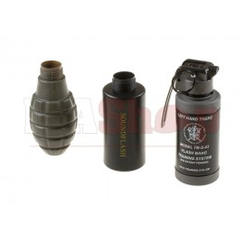 Sound Grenade Set Pineapple Shell