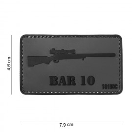 BAR 10 PVC Patch