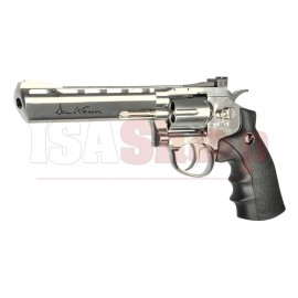 6 Inch Revolver Chrome Full Metal Co2 Low Power