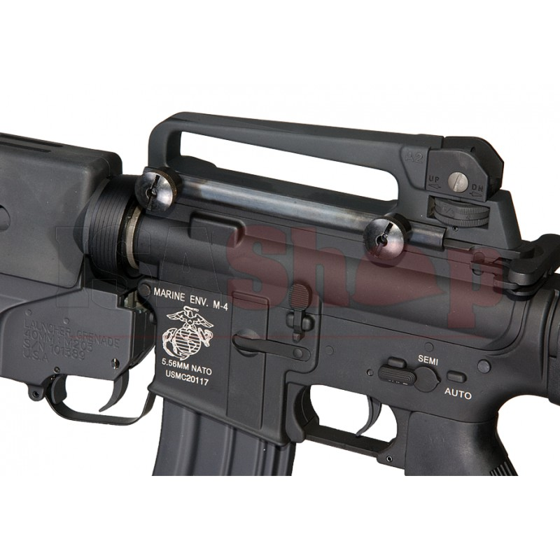 M16A3 with M203 Grenade Launcher - Iron Site Airsoft Shop M16a3 M203