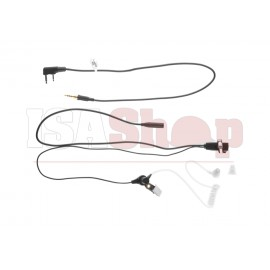 FBI Style Acoustic Headset Kenwood Connector