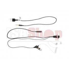 FBI Style Acoustic Headset Icom Connector