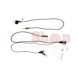 FBI Style Acoustic Headset Midland Connector