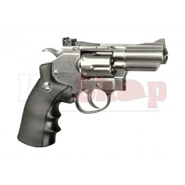 2.5 Inch Custom Revolver Full Metal Chrome Co2