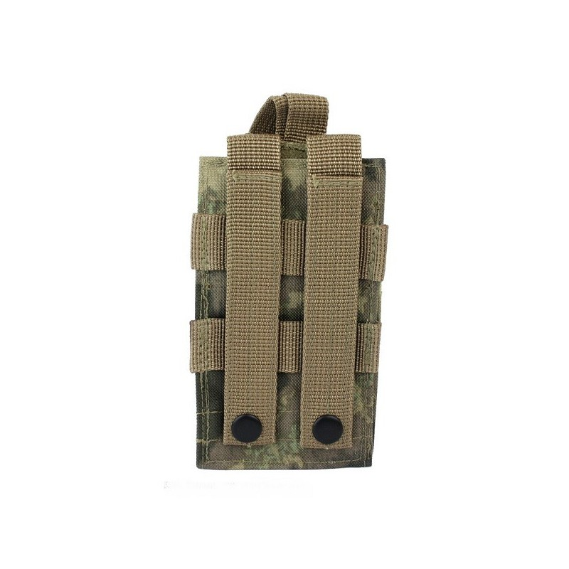 Molle radio utility pouch a tacs au iron site airsoft shop for How to make a paracord utility pouch