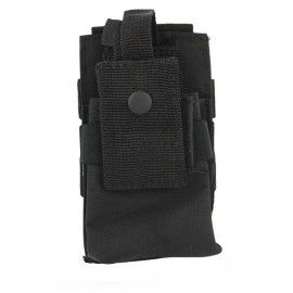 Molle Radio Utility Pouch Black
