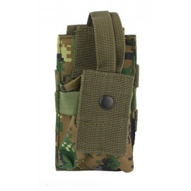 Molle Radio Utility Pouch MARPAT Woodland