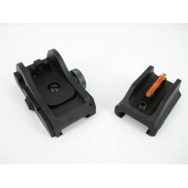 Front and Rear sight Scorpion EVO 3