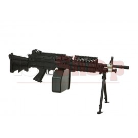Mk46 Mod 0 Para Stock Full Metal