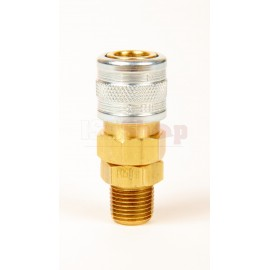 Male/Female Self Sealing Coupler