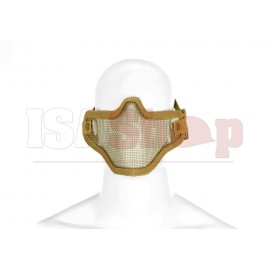 Steel Half Face Mask Tan