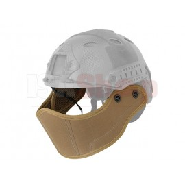 Face protection for FAST Helmets Coyote