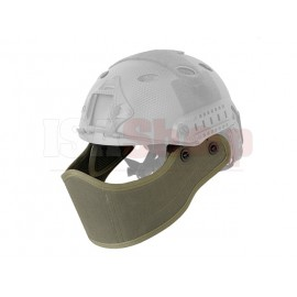 Face protection for FAST Helmets Foliage Green