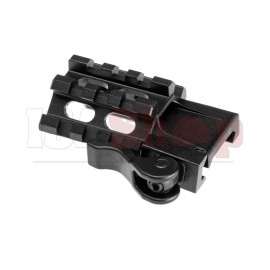 QD Angle Mount Quad Rail 3-Slot