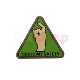 This Is My Safety PVC Patch