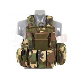 CIRAS Tactical Vest Woodland