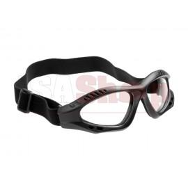 Combat Goggles Clear Black