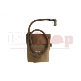 Kangaroo 1L Collapsible Canteen with Pouch Coyote