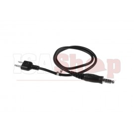 Z4 PTT Cable ICOM Connector